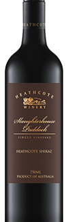 Heathcote Winery Slaughterhouse shiraz
