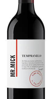 Mr. Mick tempranillo