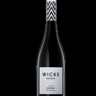 Wicks estate shiraz